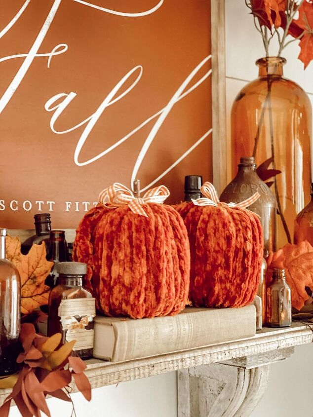 how to make toilet paper pumpkins the curated farmhouse