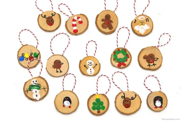 easy fingerprint christmas ornament crafts for kids printable chris