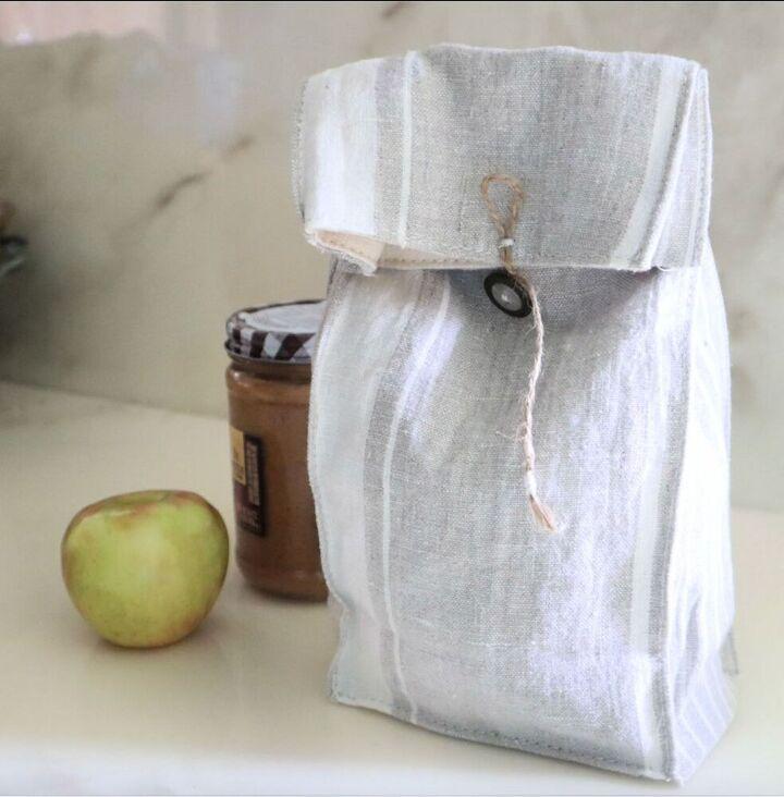 diy reusable lunch bag