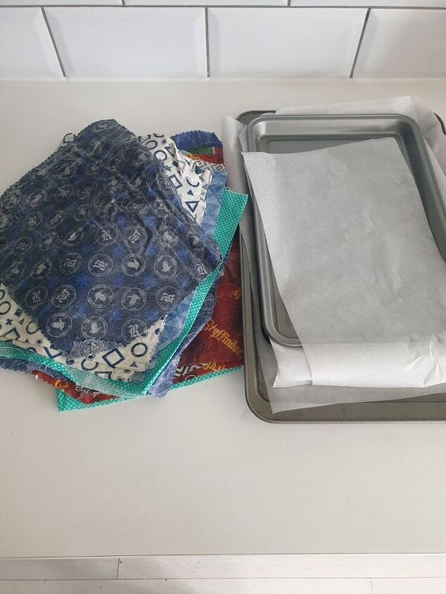 reviving tired beeswax wraps