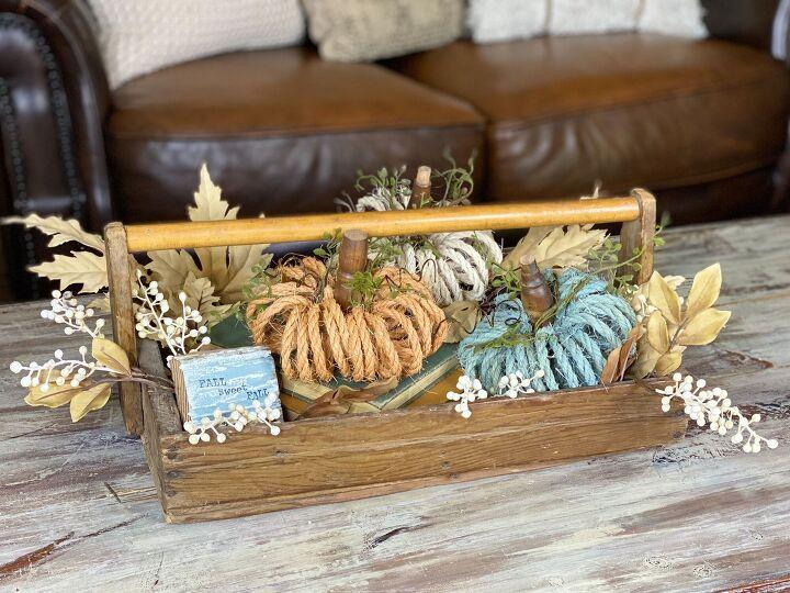 s make charming little pumpkins this fall using rope and a rolling pin, Charming Rope Pumpkins