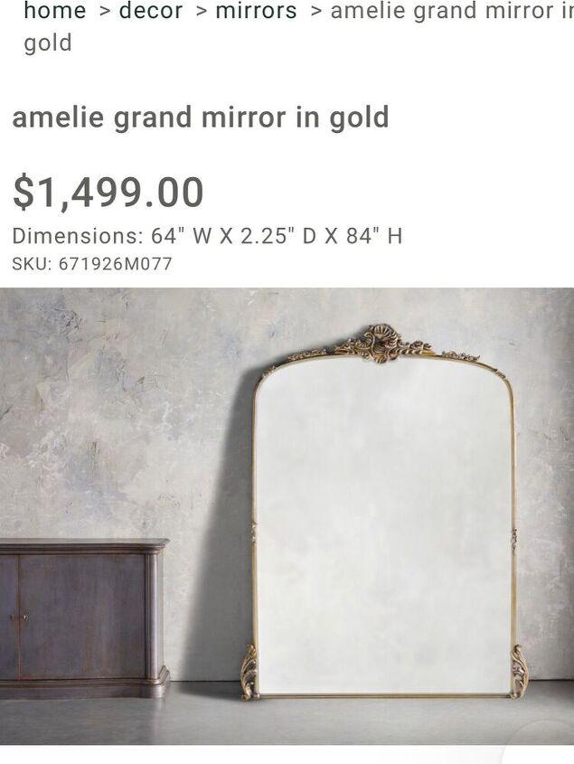 mirror makeover