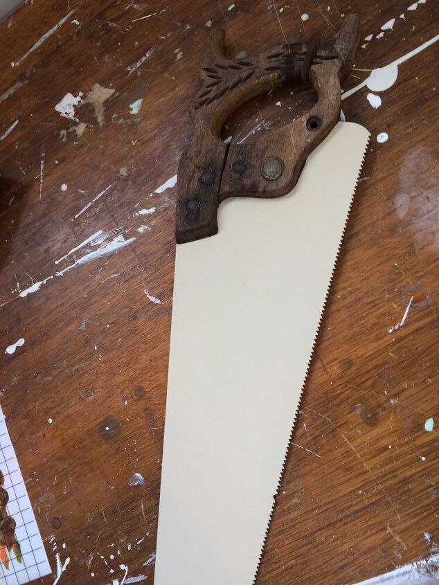 how to repurpose an old saw