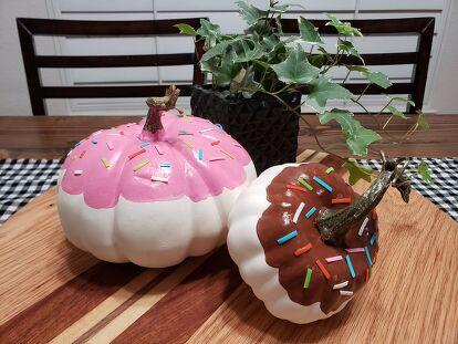 Drippy Donut Pumpkins