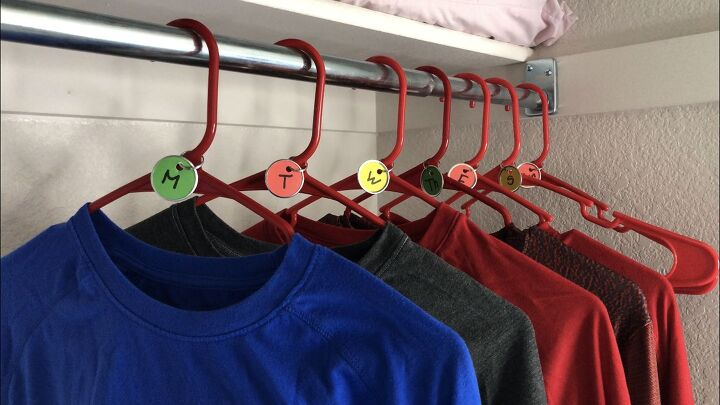 s 4 dollar store hacks to make back to school so much easier, Label your kids outfits