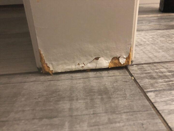 q particle board repair