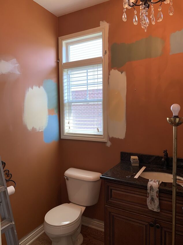 a quick easy before after bathroom makeover