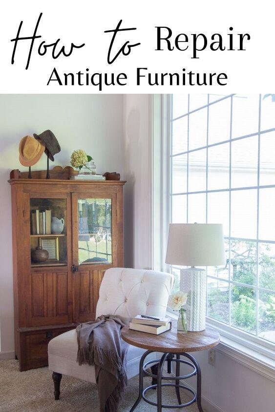 repair of antique furniture a simple easy diy