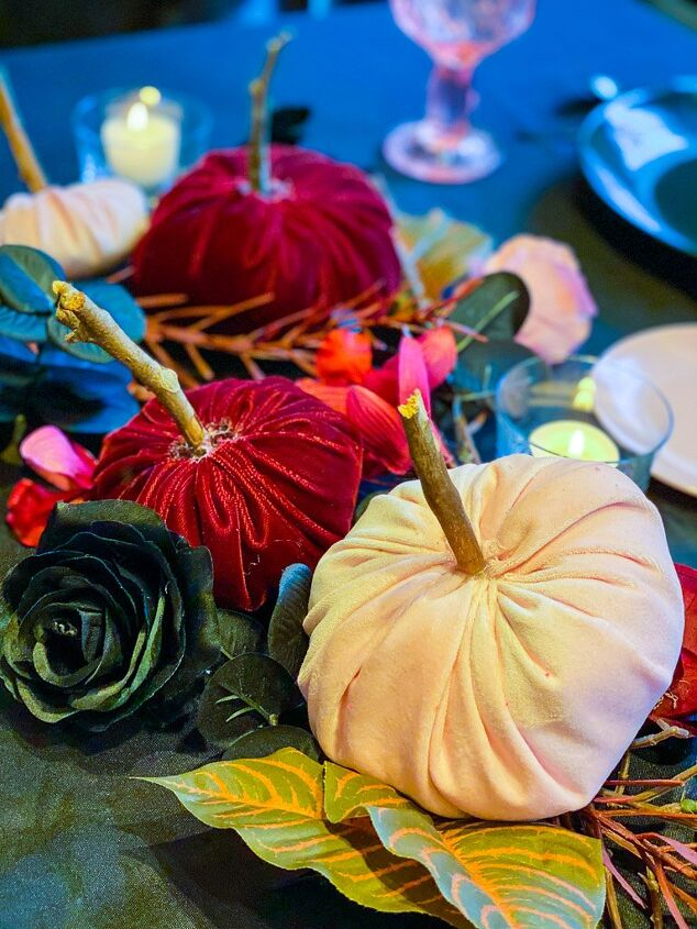 we show you how to make pink velvet pumpkins it s an easy afternoon