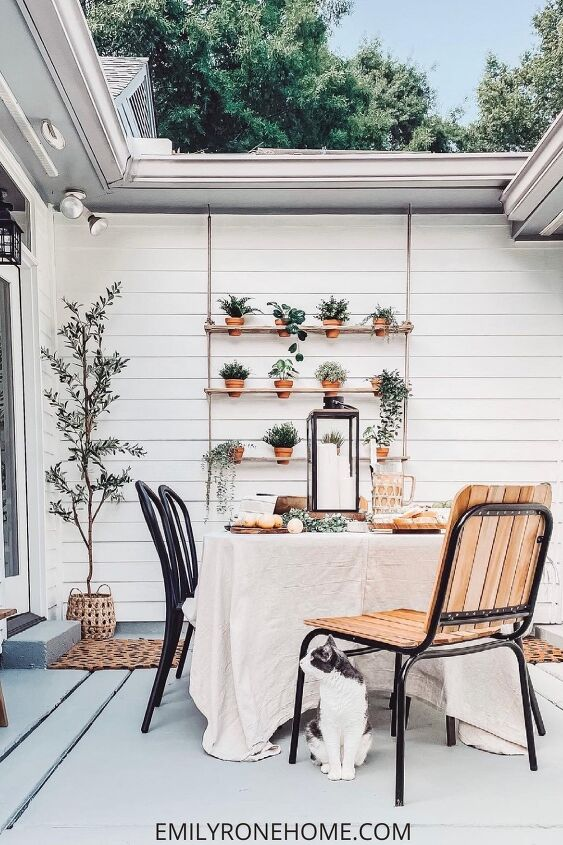 s 18 better ways to show off your houseplants, This charming vertical wall planter