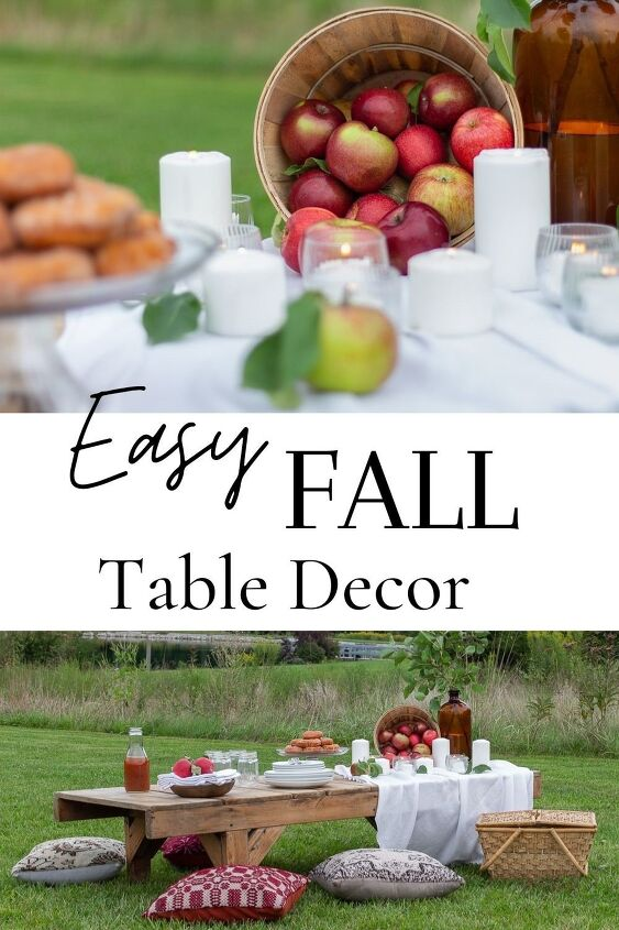 how to create a simple stunning early fall apple tablescape