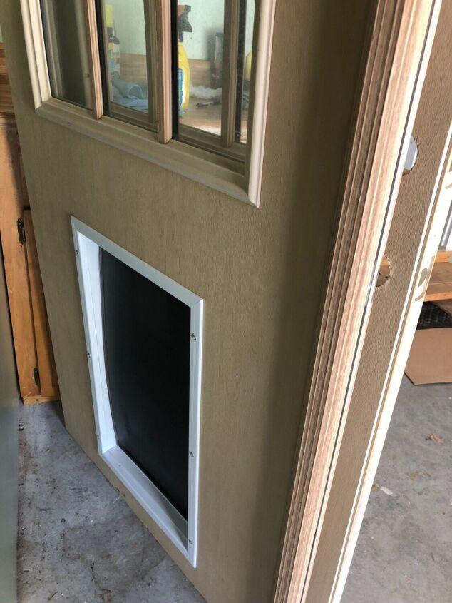 q how do i resize a pet door