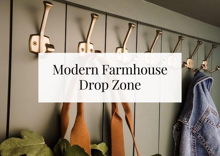 modern farmhouse diy drop zone 804 sycamore