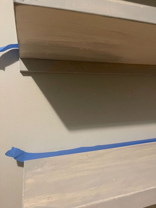 q how do i remove these shelves without drywall damage