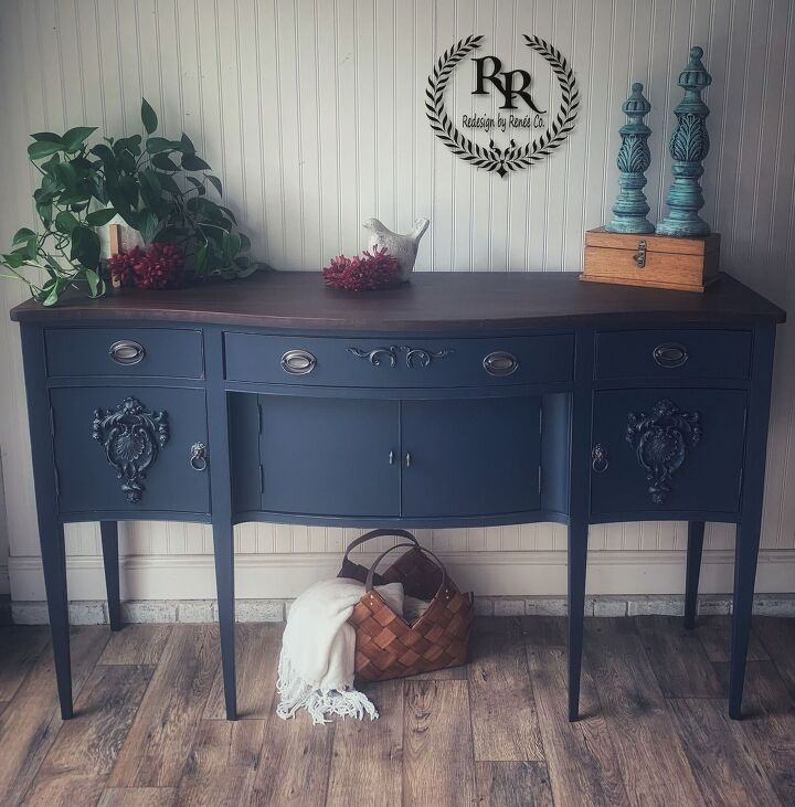 beautiful sideboard buffet redesign with paint couture and iflex