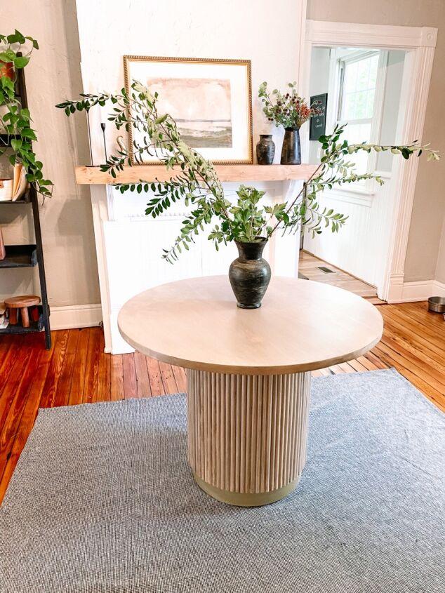 modern round moon table