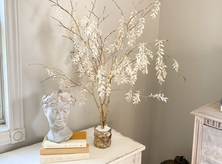 s grab some branches from your yard to copy this amazing lighting idea, Twinkling Branch Lights