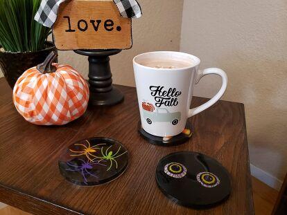Creepy Halloween Coasters