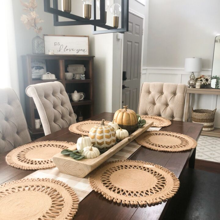 table makeover with liquid wood