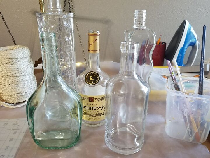 liquor bottle decorating