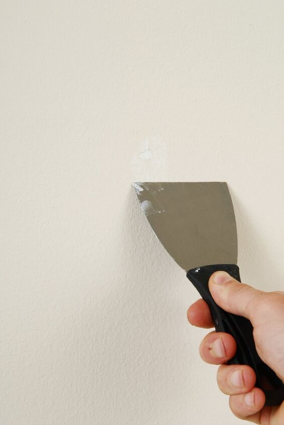 how to fix a hole in the wall, how to fix nail holes