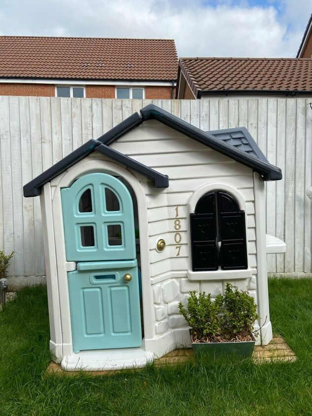 playhouse makeover update