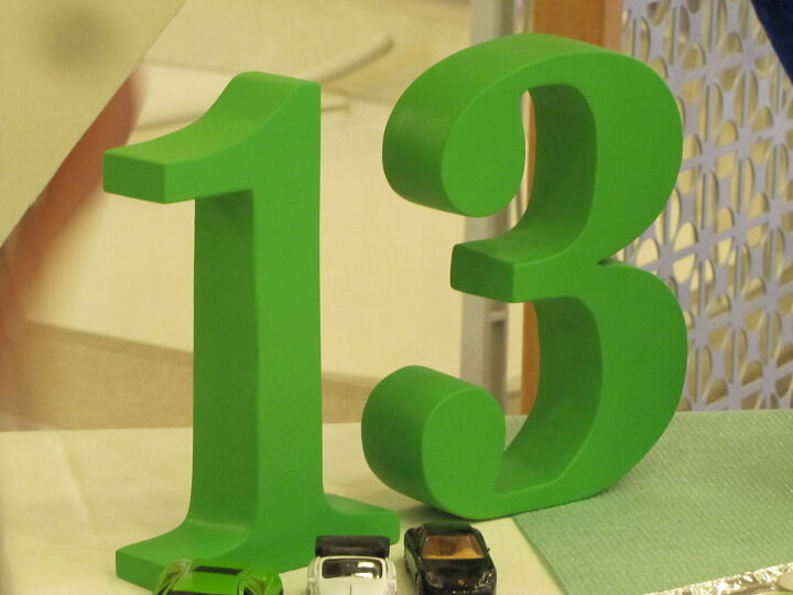 3d numbers from mdf using basic tools