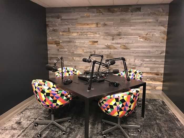 q need suggestions regarding podcast studio design at home