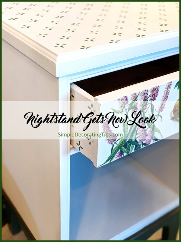nightstand gets a new look