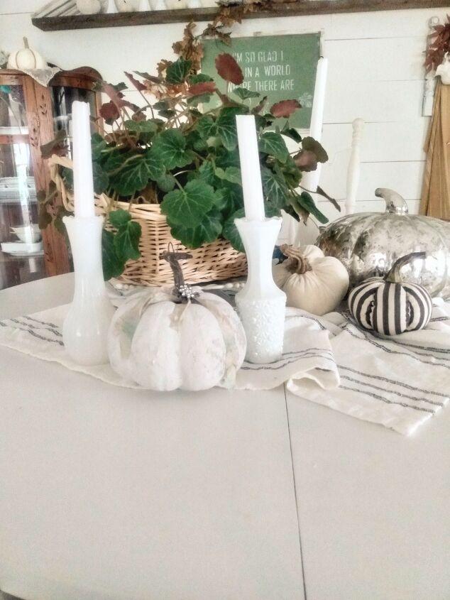 textured dollar store pumpkin