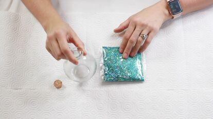 Crystal Potion Bottle