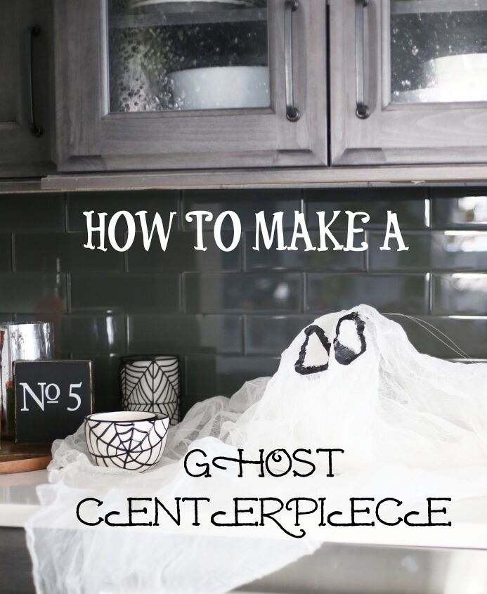 how to make a ghost centerpiece