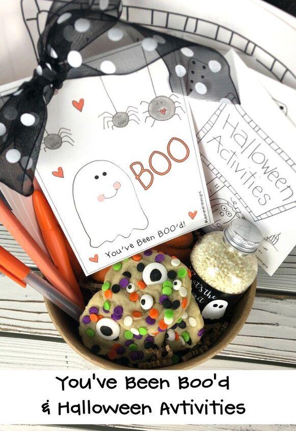 boo bag tags and free halloween printables