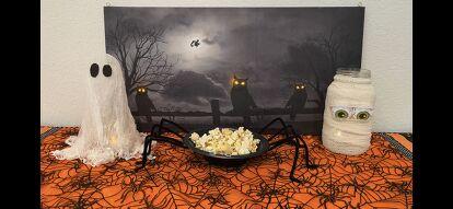 Budget Halloween Decor