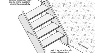 q please help my stairs are literally falling, flooring, home maintenance repairs, how to, stairs