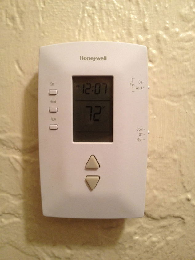 Change the batteries in your thermostat