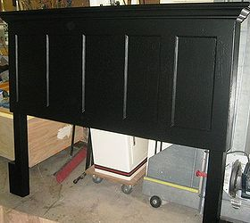 90 Year Old 5 Panel Door Made Into King Size Headboard, Repurposing  Upcycling