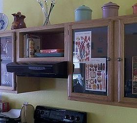 Picture Frame Kitchen Cabinets And Tile Breakfast Bar, Home Decor, Kitchen  Cabinets, Kitchen