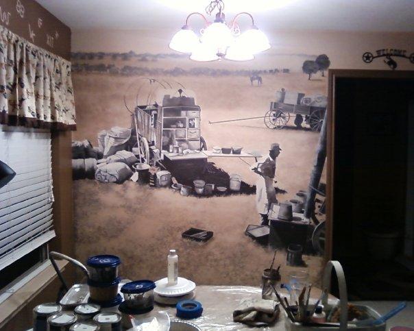 Matador Ranch Wall Mural by GranArt - #3pic
