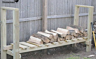 diy log holder, diy, woodworking projects, A good base that won t hold water