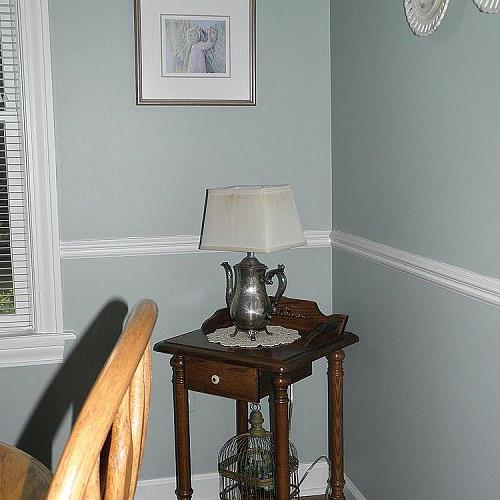 I purchased the silver coffee pot at an antique store for $10.00.  My husband made it into a lamp for me.