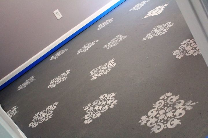 how to paint your subfloors, flooring, painting, How to paint your subfloors