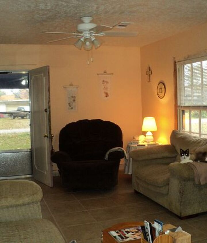 living room remodeled we flipped this house, home decor, living room ideas
