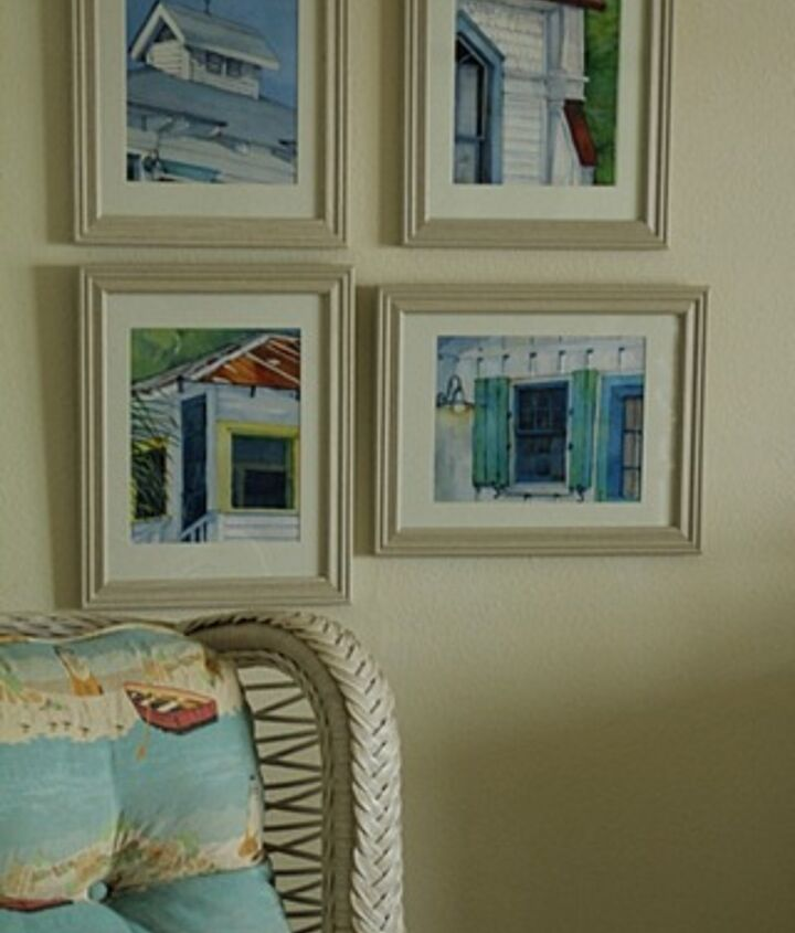 Watercolor prints of South Carolina cottages.