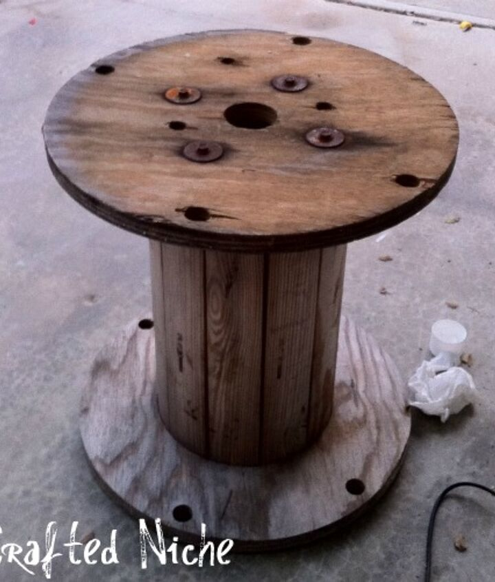 Spool Table BEFORE