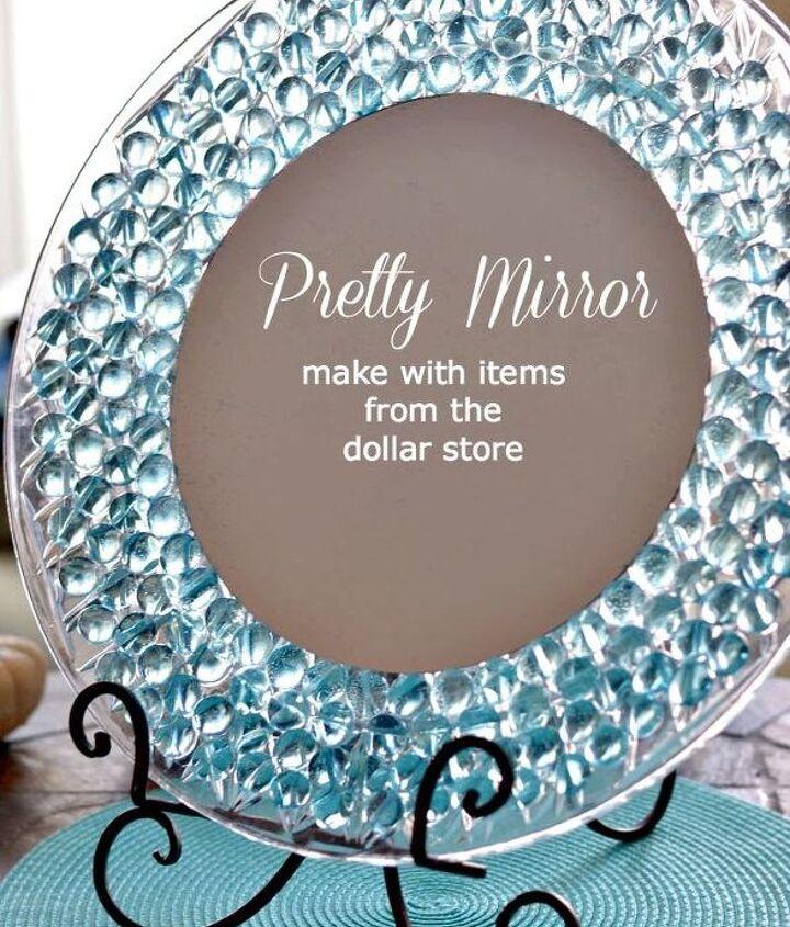 a pretty mirror for my dresser, crafts