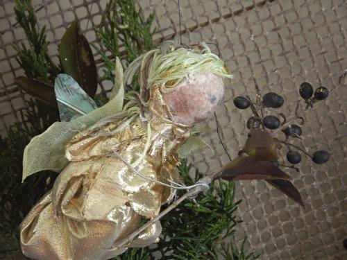 woodland fairy christmas wreath, christmas decorations, crafts, seasonal holiday decor, wreaths