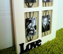 cabinet door collage, crafts, home decor, repurposing upcycling