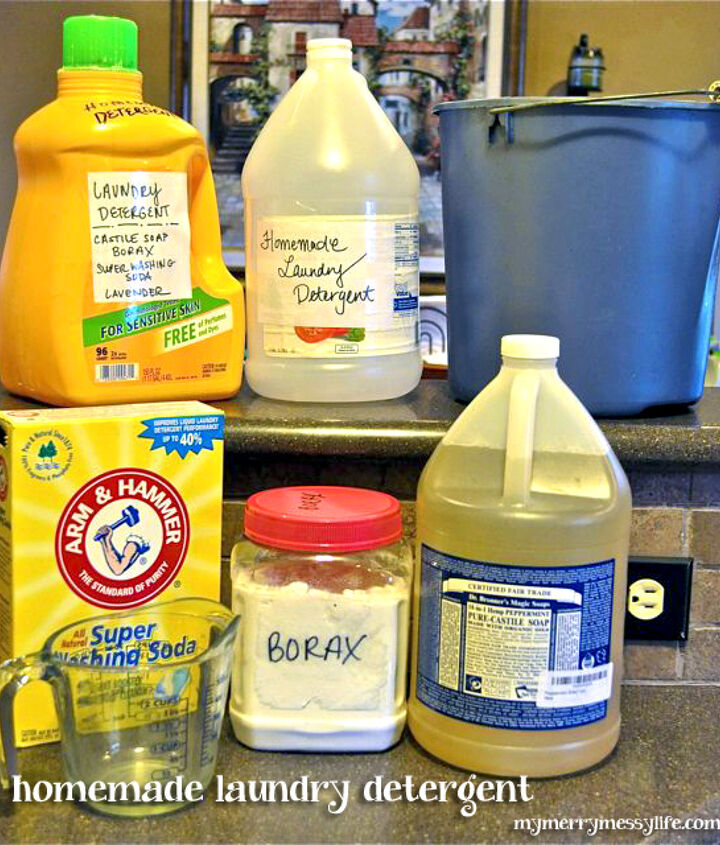 homemade laundry detergent green and natural, cleaning tips