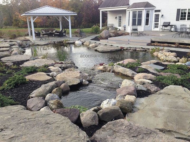 Does this look like an ideal location for a patio pond party?